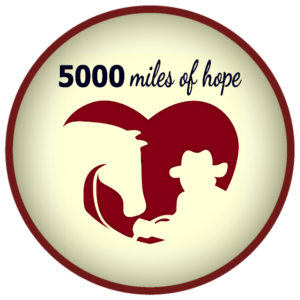 5000 miles of hope logo