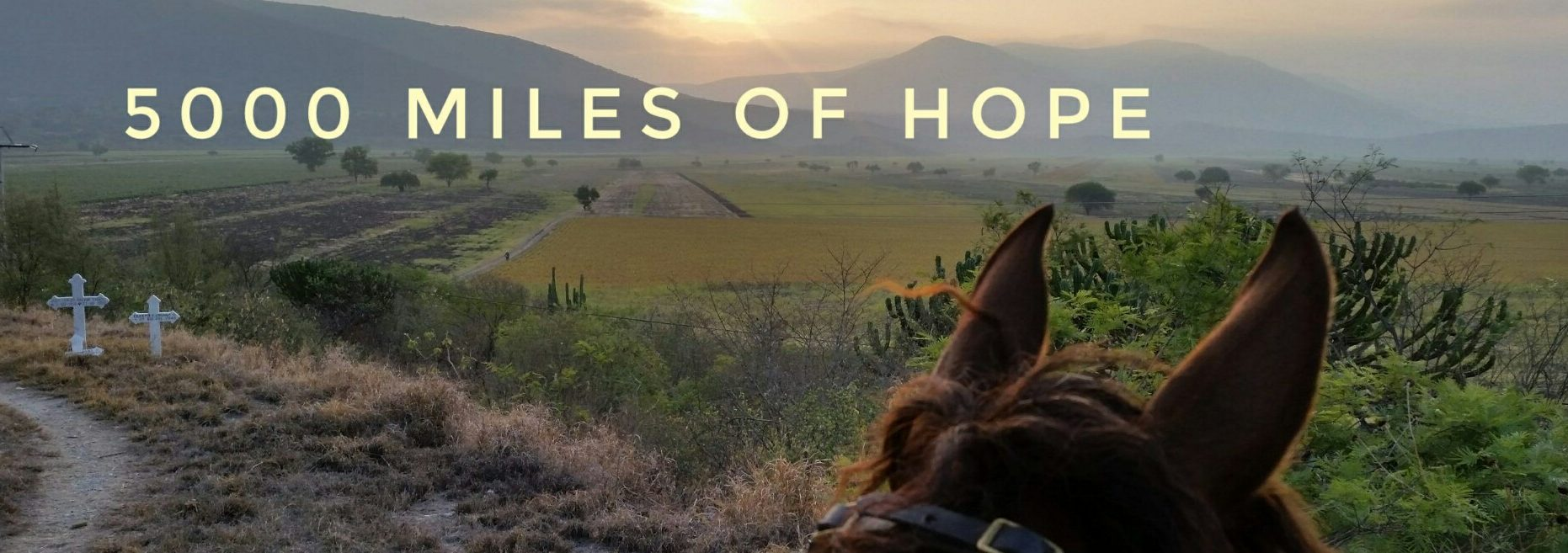 5000 miles of hope solo horse travel